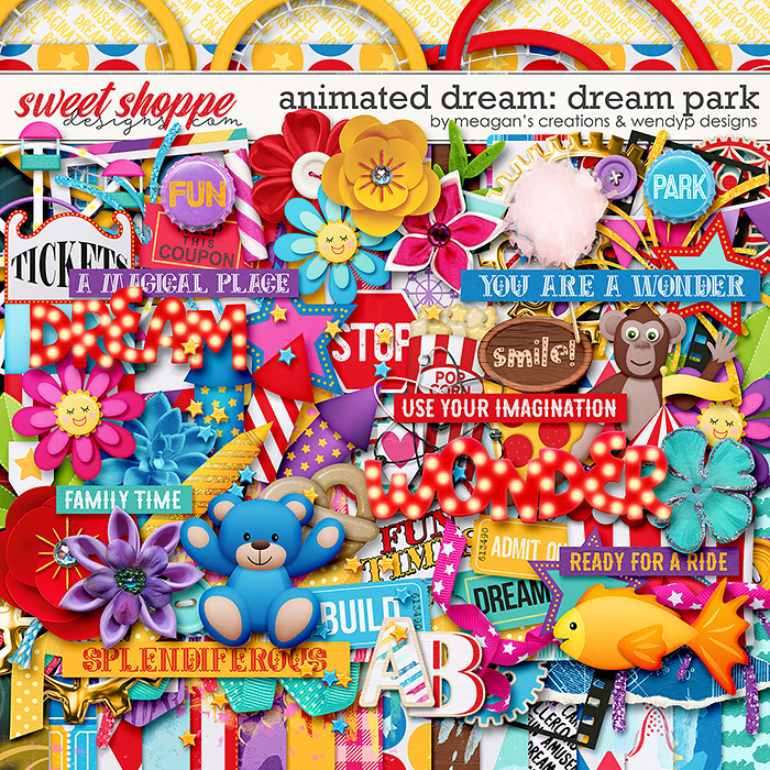 Animated dream: dream park by Meagan's Creations & WendyP Designs