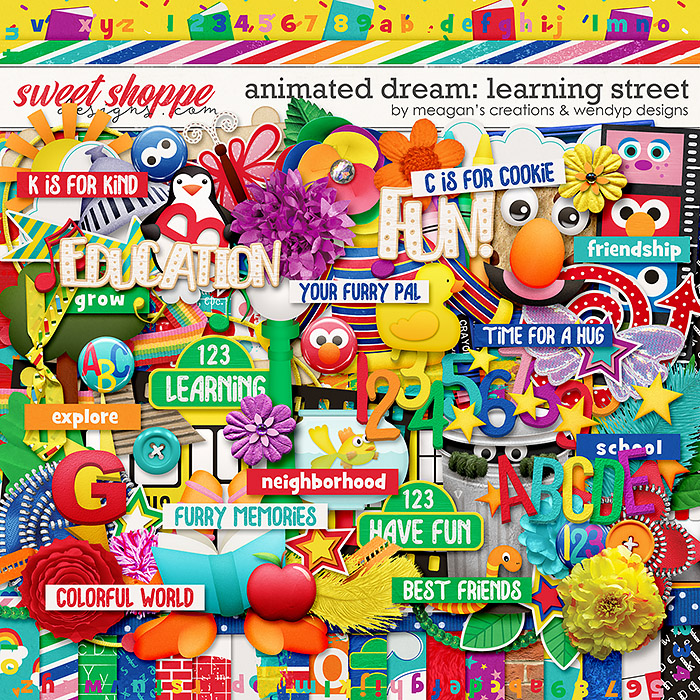 Animated Dream: Learning Street by Meagan's Creations & WendyP Designs