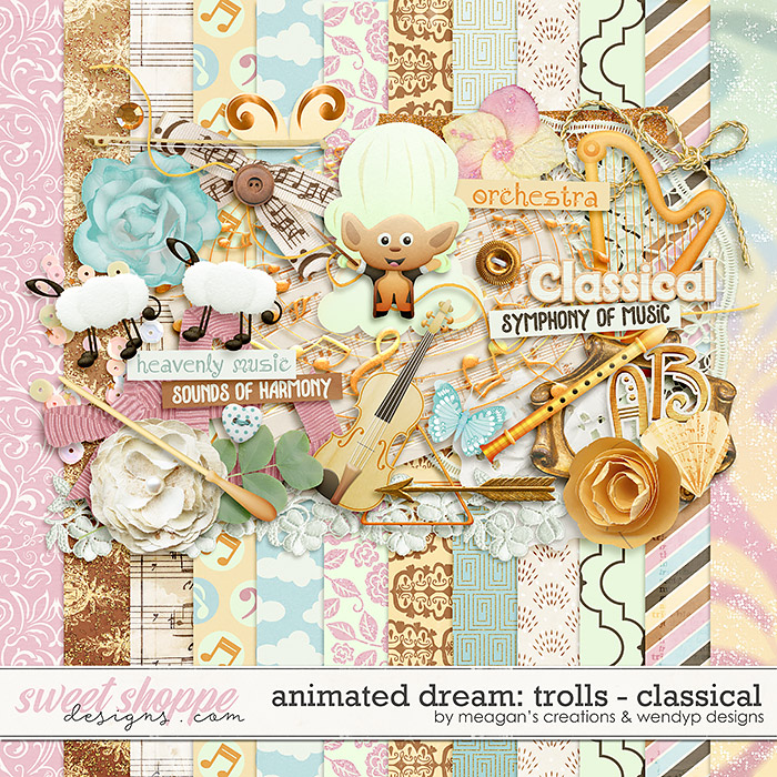 Animated Dream: Trolls-Classical by Meagan's Creations and WendyP Designs