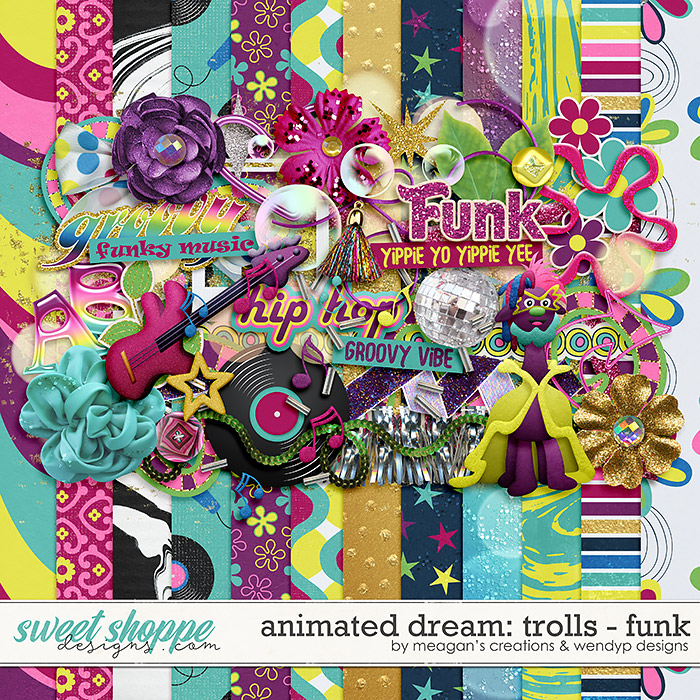 Animated Dream: Trolls- Funk by Meagan's Creations and WendyP Designs