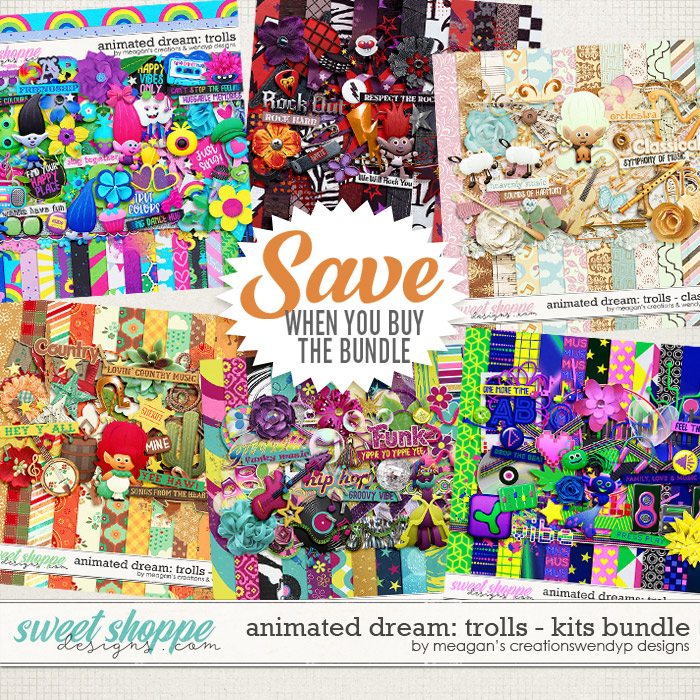 Animated Dream: Trolls Kits Bundle by Meagan's Creations and WendyP Designs