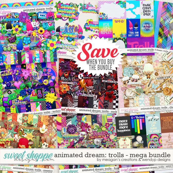 Animated Dream: Trolls Mega Bundle by Meagan's Creations and WendyP Designs