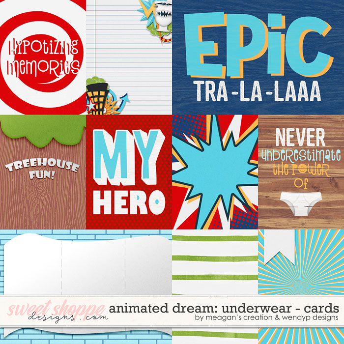 Animated Dreams: Underwear- Cards by Meagan's Creations and WendyP Designs
