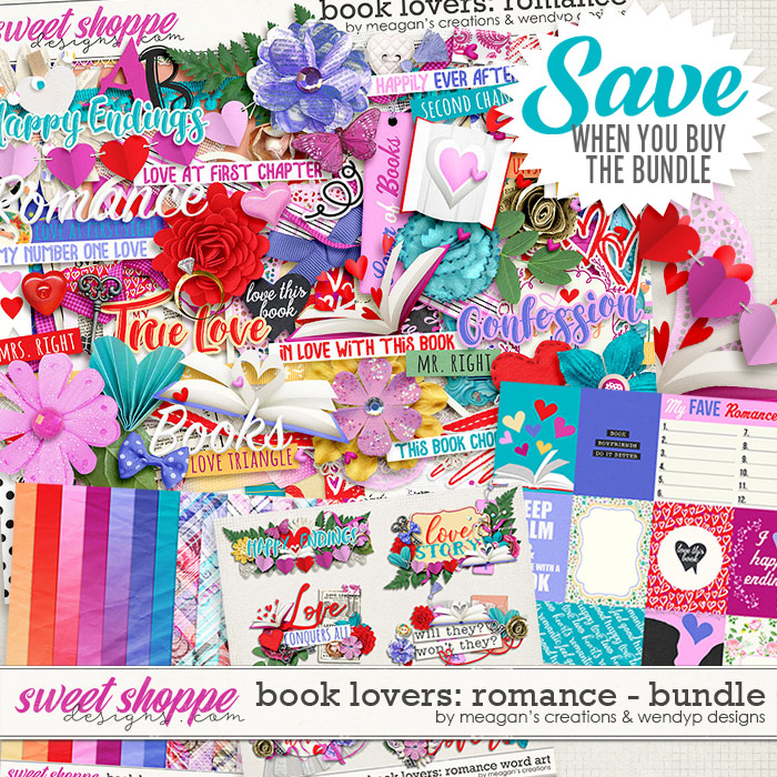 Book Lovers: Romance Bundle by Meagan's Creations and WendyP Designs