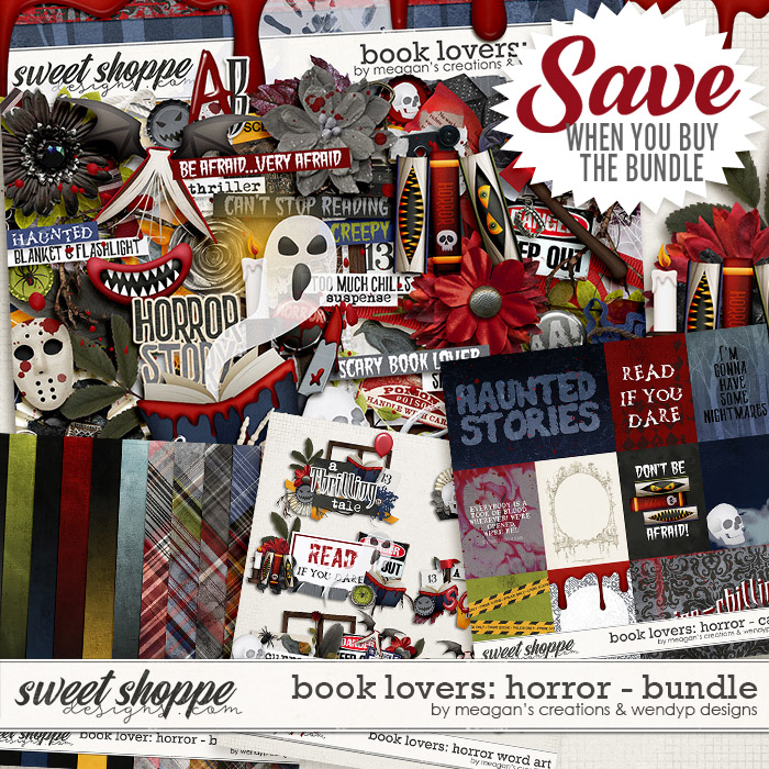 Book Lovers: Horror Collection Bundle by Meagan's Creations and WendyP Designs