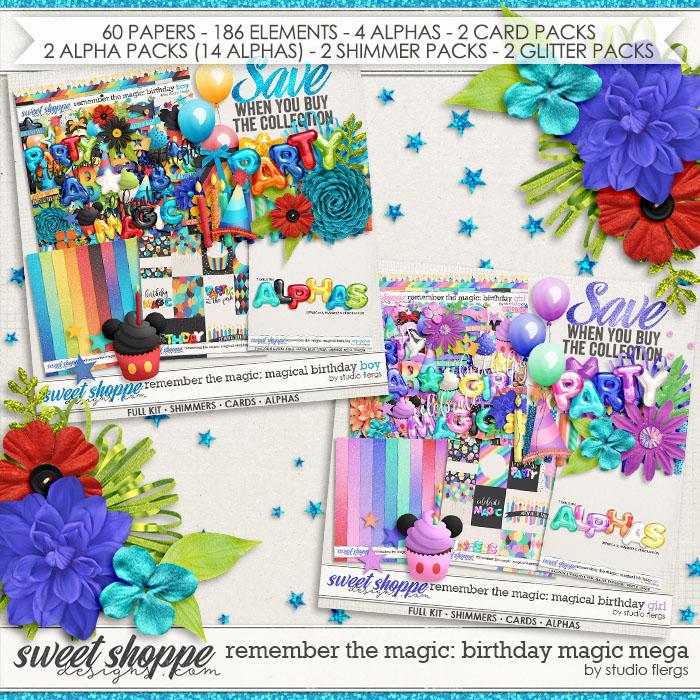 Remember the Magic: BIRTHDAY MAGIC- MEGA COLLECTION by Studio Flergs