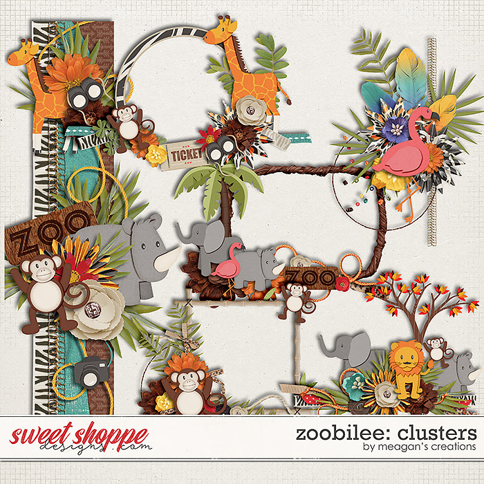Zoobilee : Clusters by Meagan's Creations