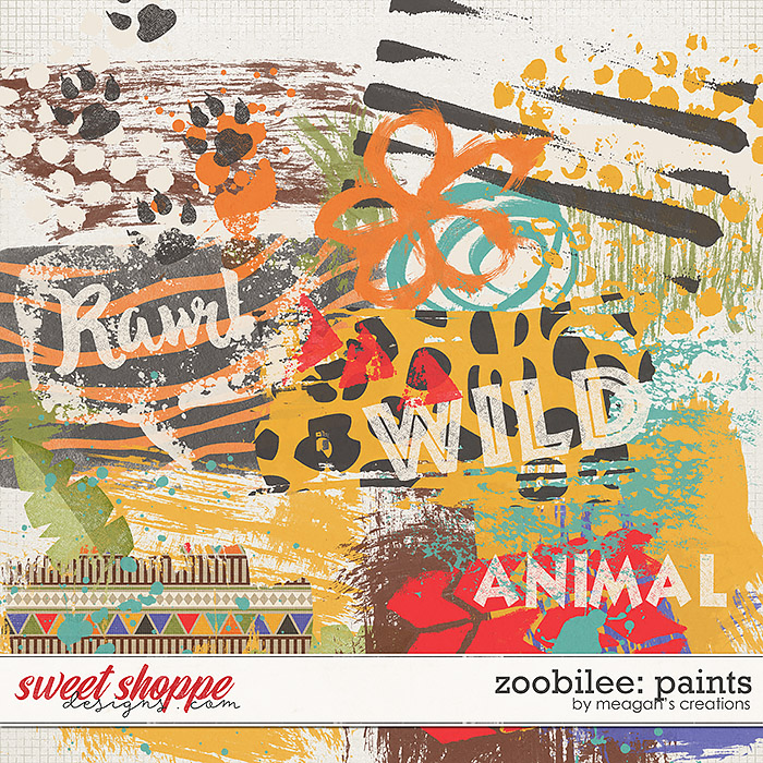 Zoobilee : Paints by Meagan's Creations