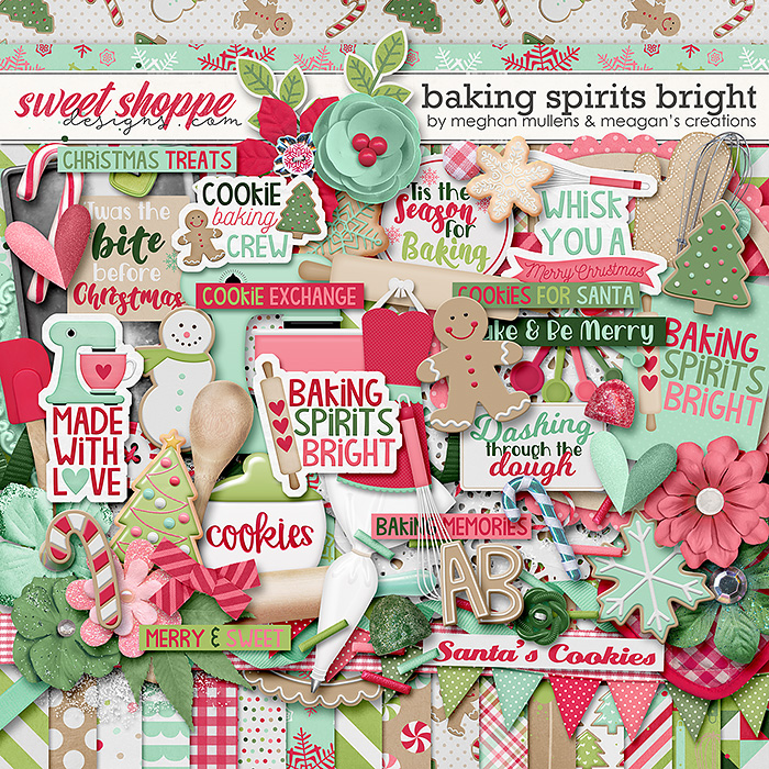 Baking Spirits Bright-Kit by Meagan's Creations and Meghan Mullens