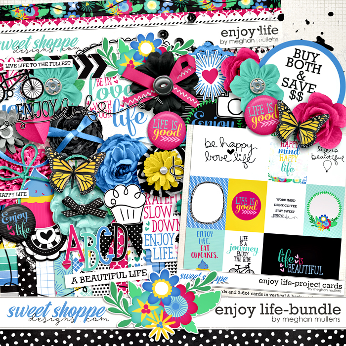 Enjoy Life-Bundle by Meghan Mullens