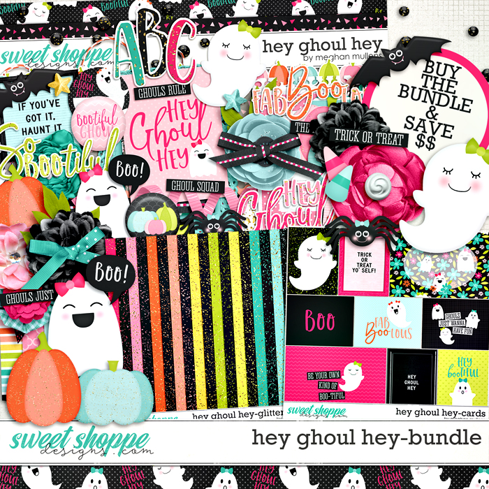 Hey Ghoul Hey Bundle by Meghan Mullens