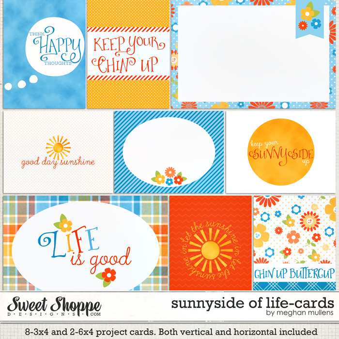 Sunny Side Of Life-Proect Cards by Meghan Mullens