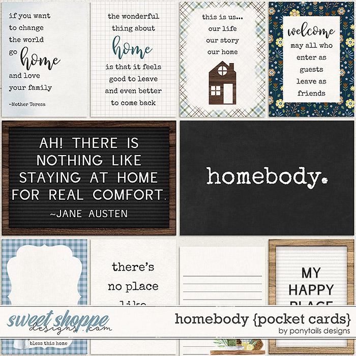 Homebody Pocket Cards by Ponytails