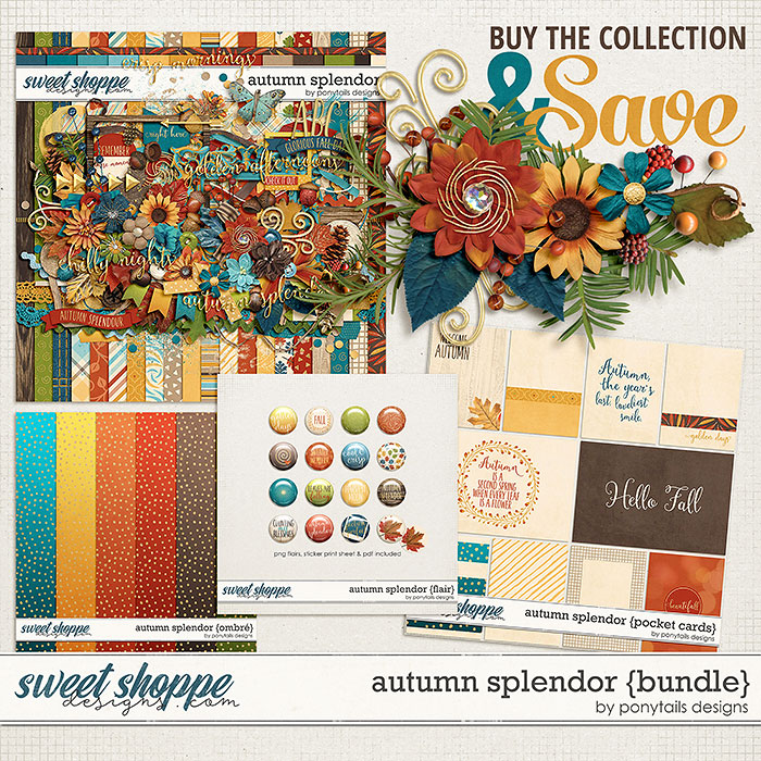 Autumn Splendor Bundle by Ponytails