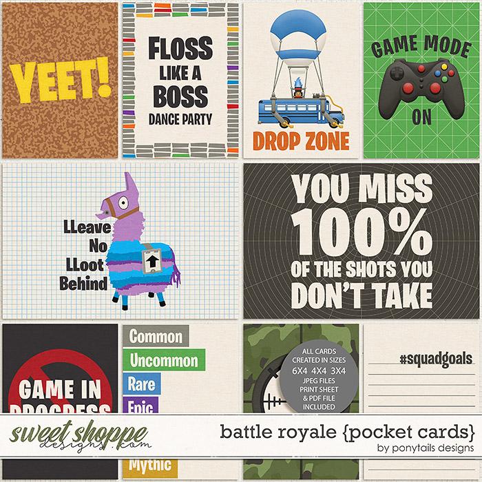 Battle Royale Pocket Cards by Ponytails