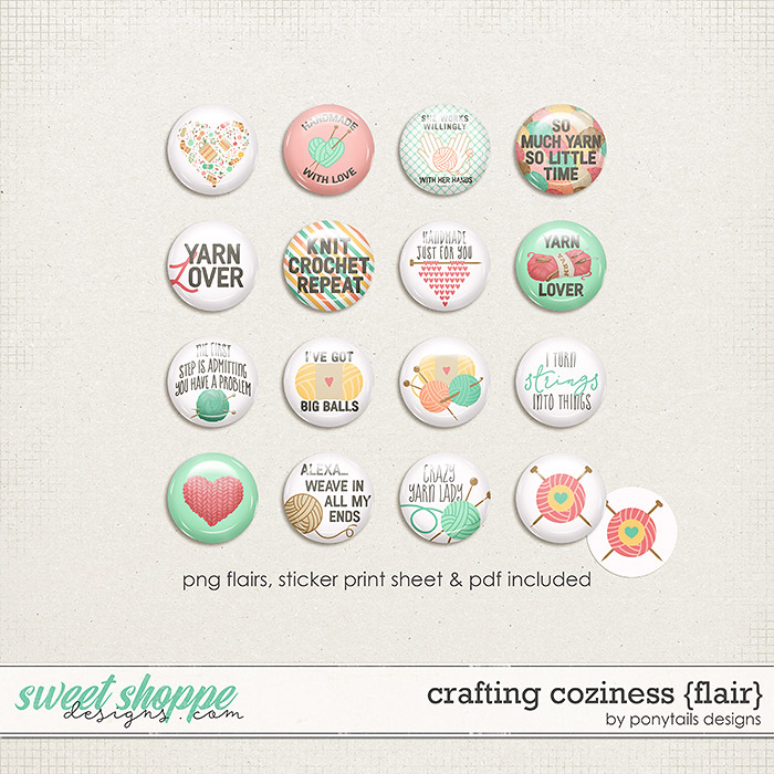 Crafting Coziness Flair by Ponytails