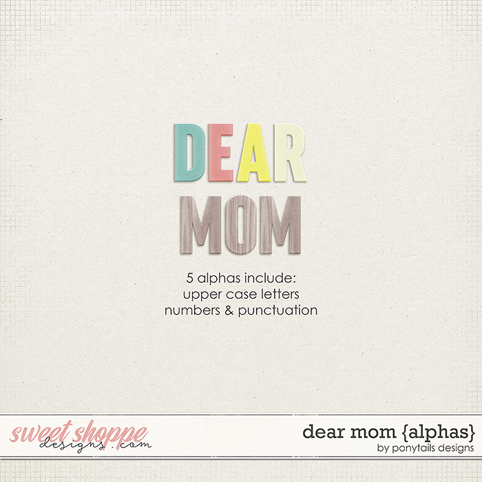 Dear Mom Alphas by Ponytails