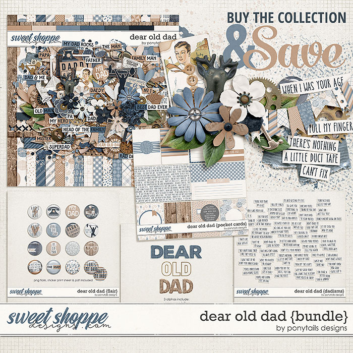 Dear Old Dad Bundle By Ponytails
