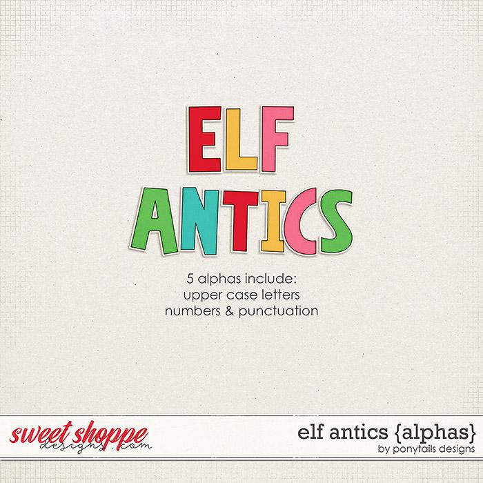 Elf Antics Alphas by Ponytails
