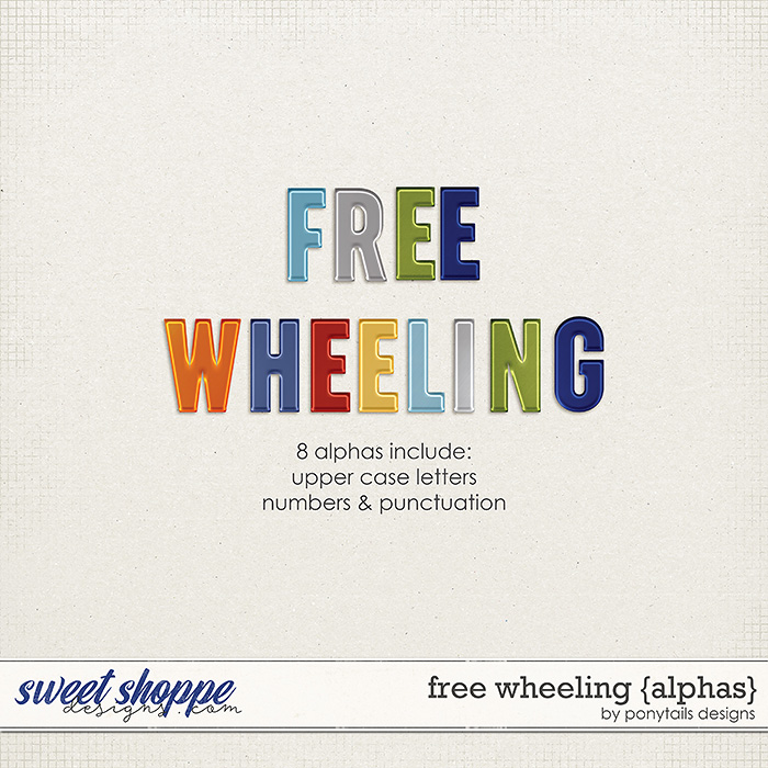 Free Wheeling Alphas by Ponytails