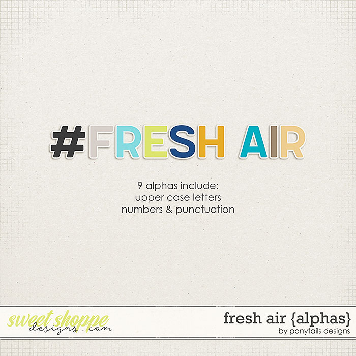 Fresh Air Alphas by Ponytails
