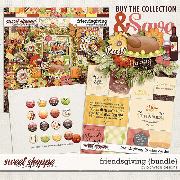Friendsgiving Bundle by Ponytails