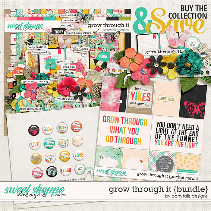 Grow Through It Bundle by Ponytails
