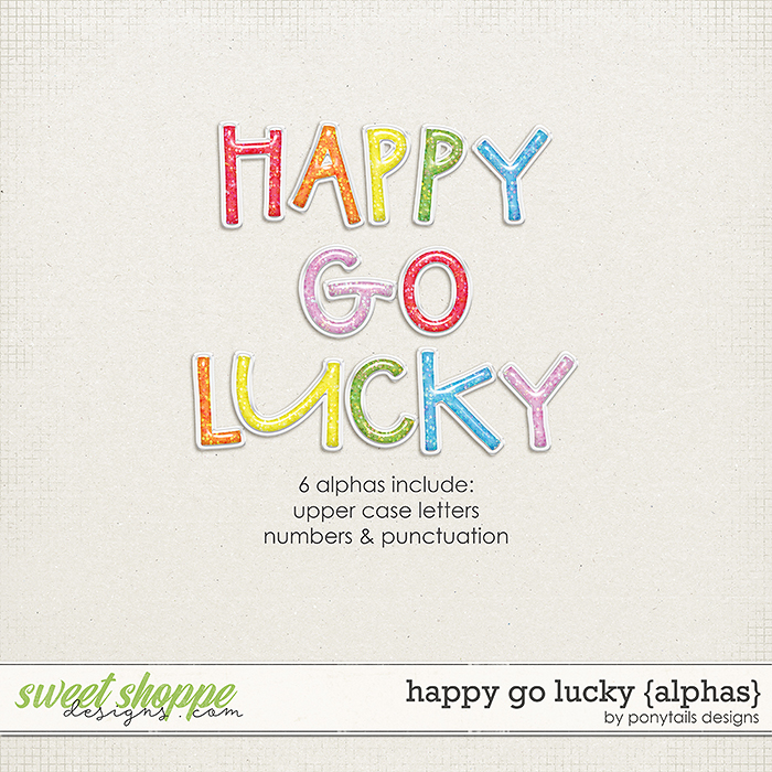 Happy Go Lucky Alphas by Ponytails