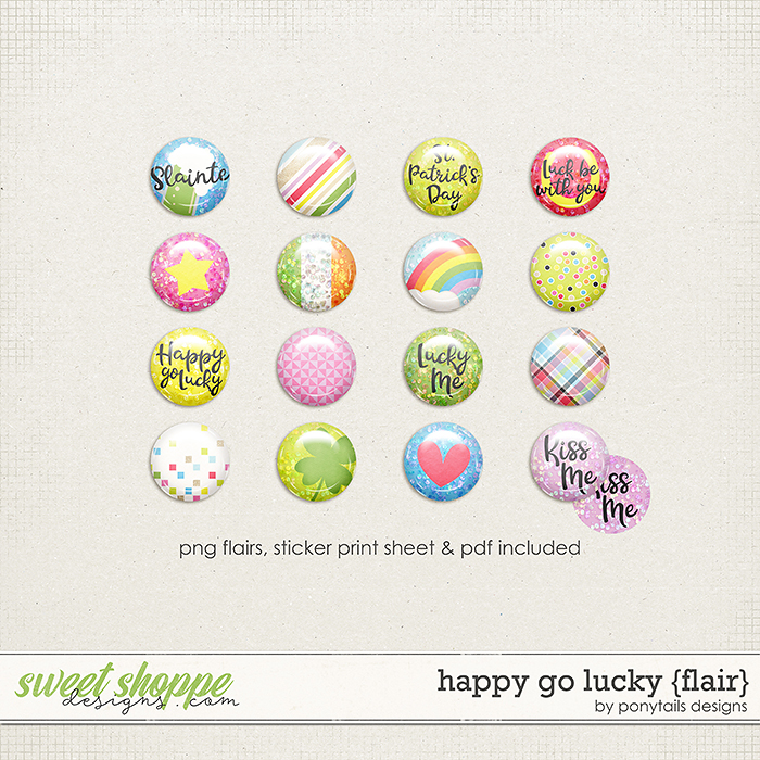 Happy Go Lucky Flair by Ponytails