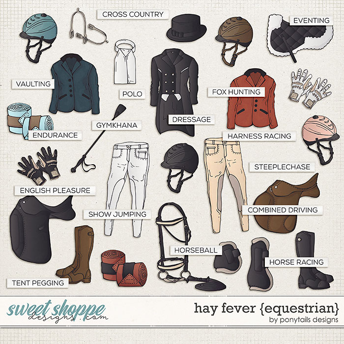 Hay Fever Equestrian Add-On by Ponytails