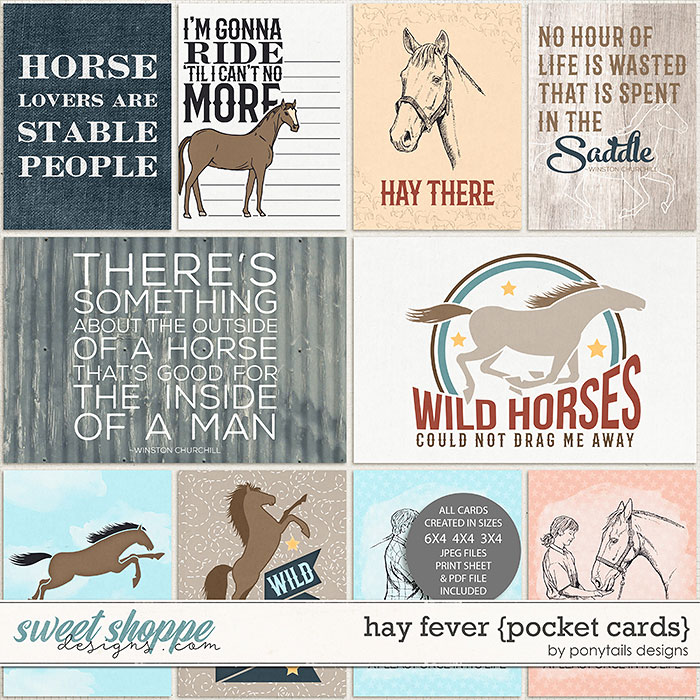 Hay Fever Pocket Cards by Ponytails