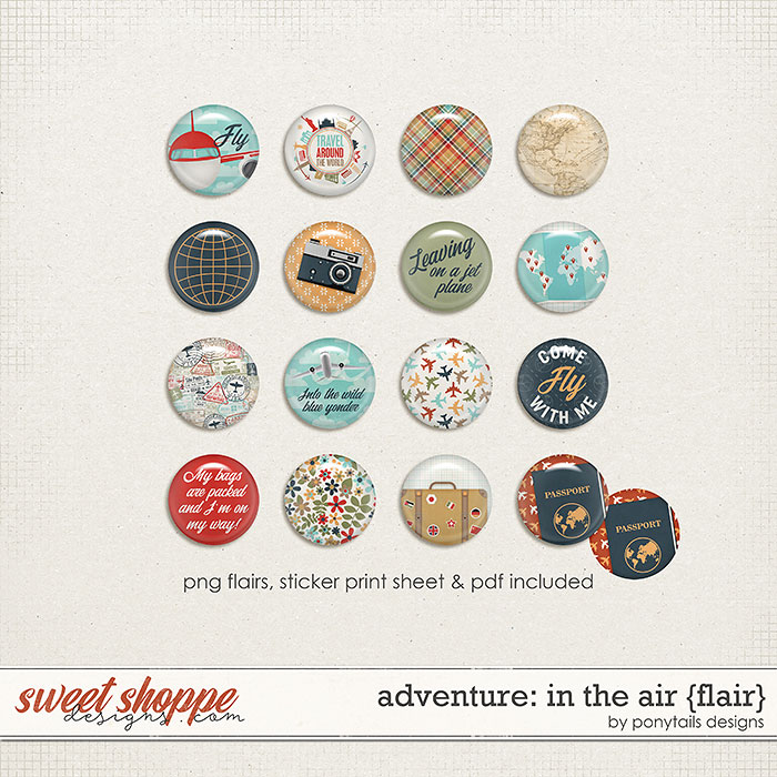 Adventure: In the Air Flair by Ponytails