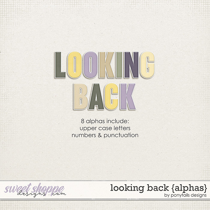 Looking Back Alphas by Ponytails