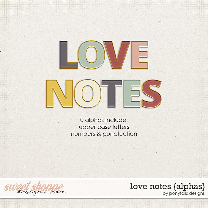 Love Notes Alphas by Ponytails