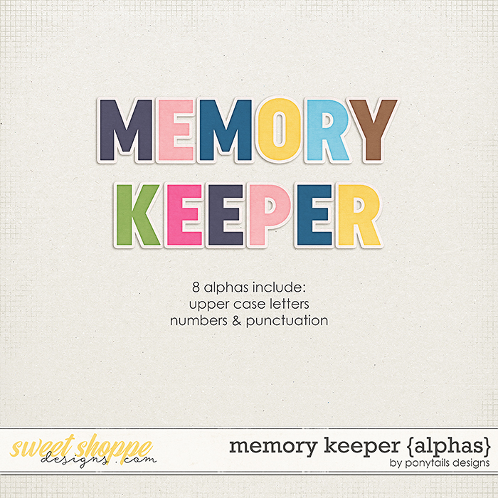 Memory Keeper Alphas by Ponytails