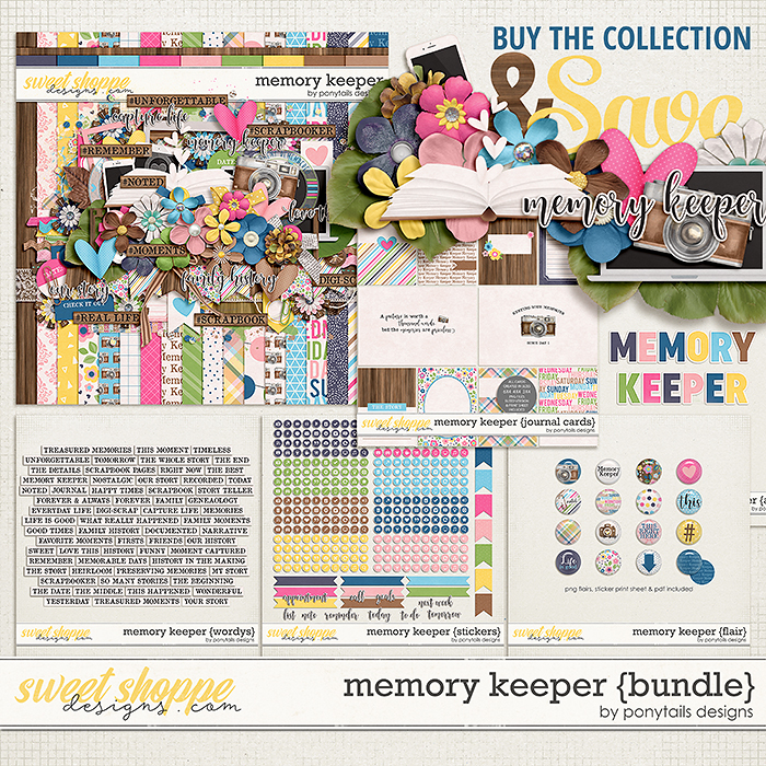 Memory Keeper Bundle by Ponytails