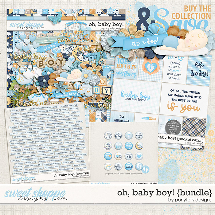 Oh Baby Boy! Bundle by Ponytails
