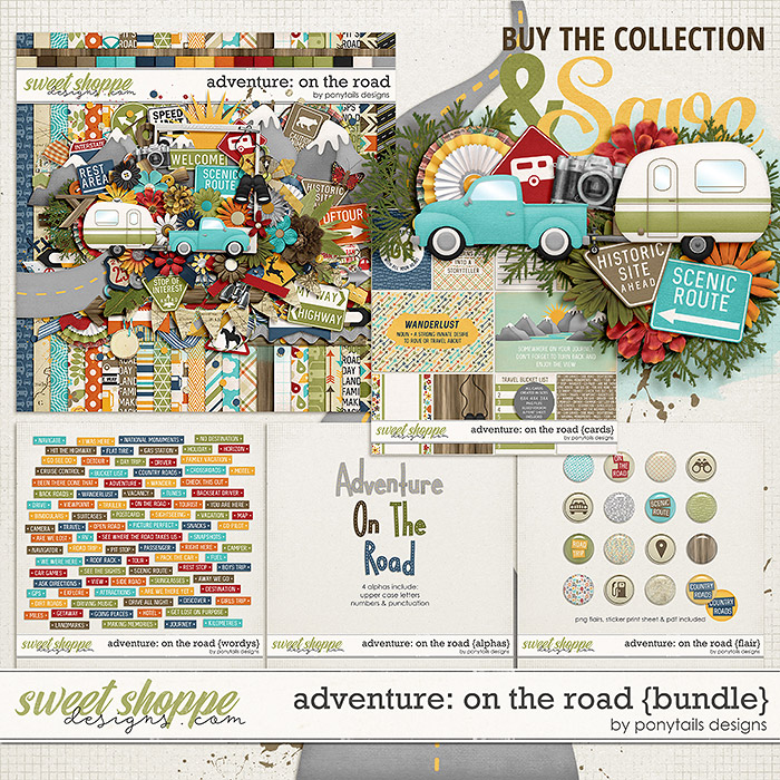 Adventure: On the Road Bundle by Ponytails