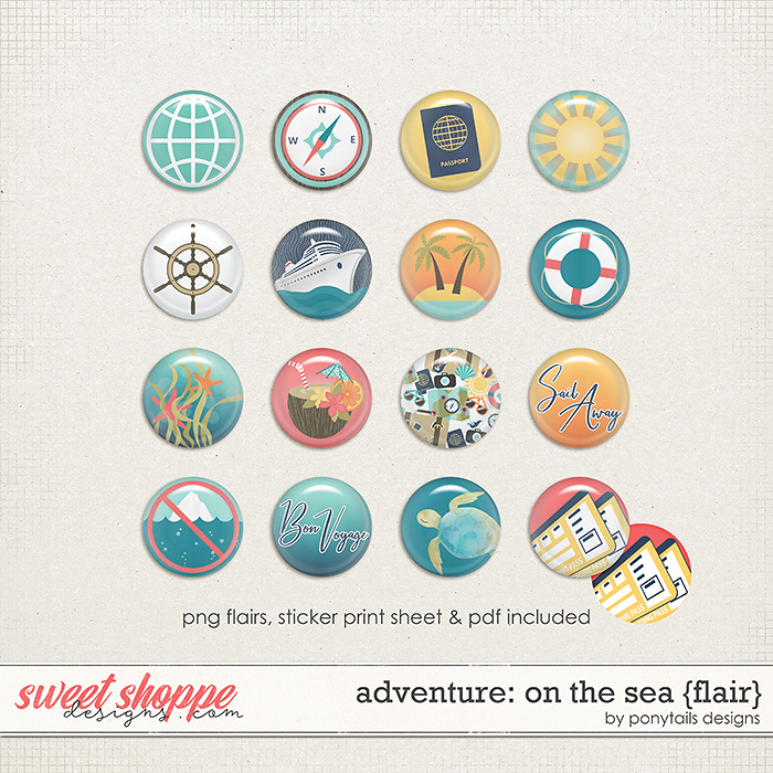 Adventure: On the Sea Flair by Ponytails