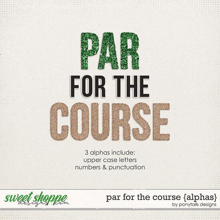 Par for the Course Alphas by Ponytails