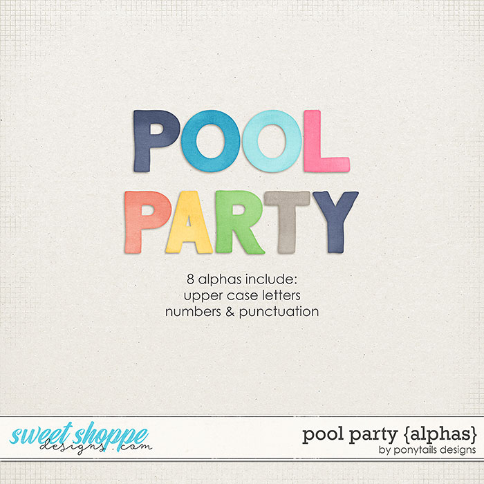 Pool Party Alphas by Ponytails