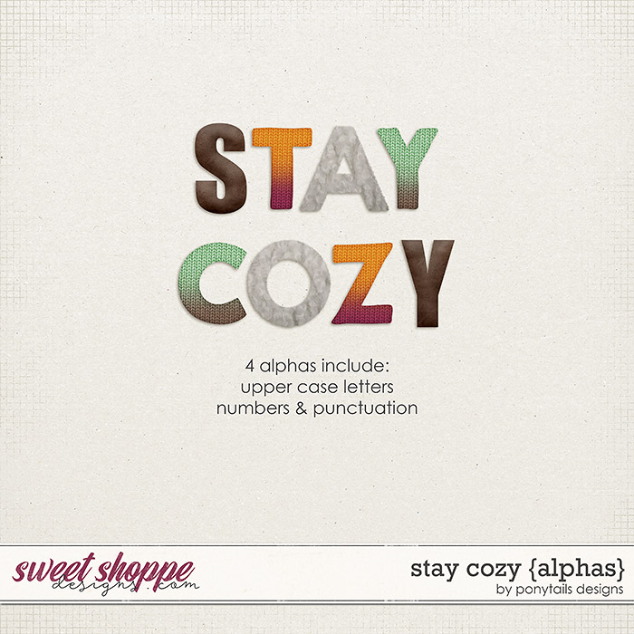 Stay Cozy Alphas by Ponytails