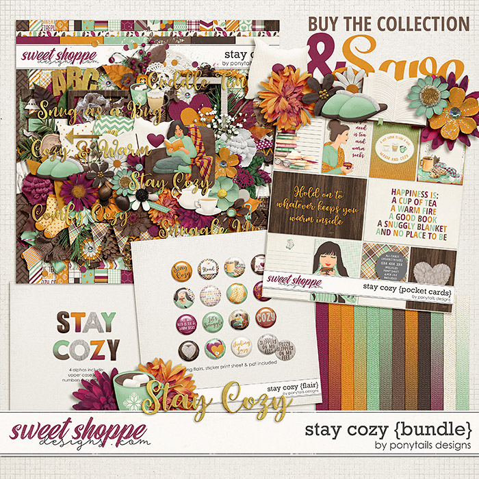 Stay Cozy Bundle by Ponytails