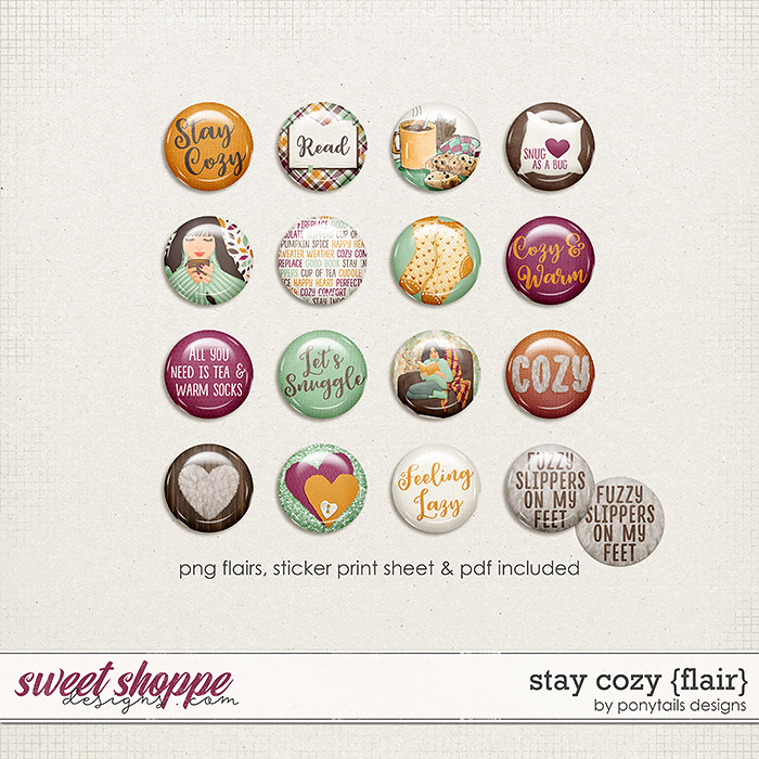 Stay Cozy Flair by Ponytails