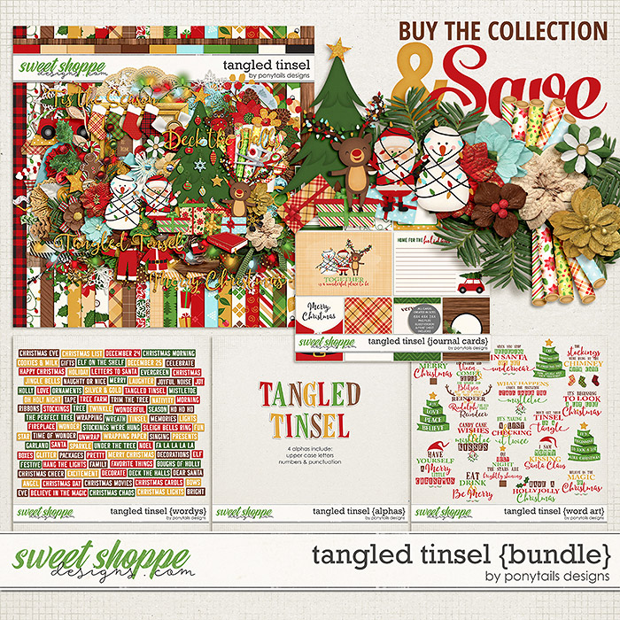 Tangled Tinsel Bundle by Ponytails