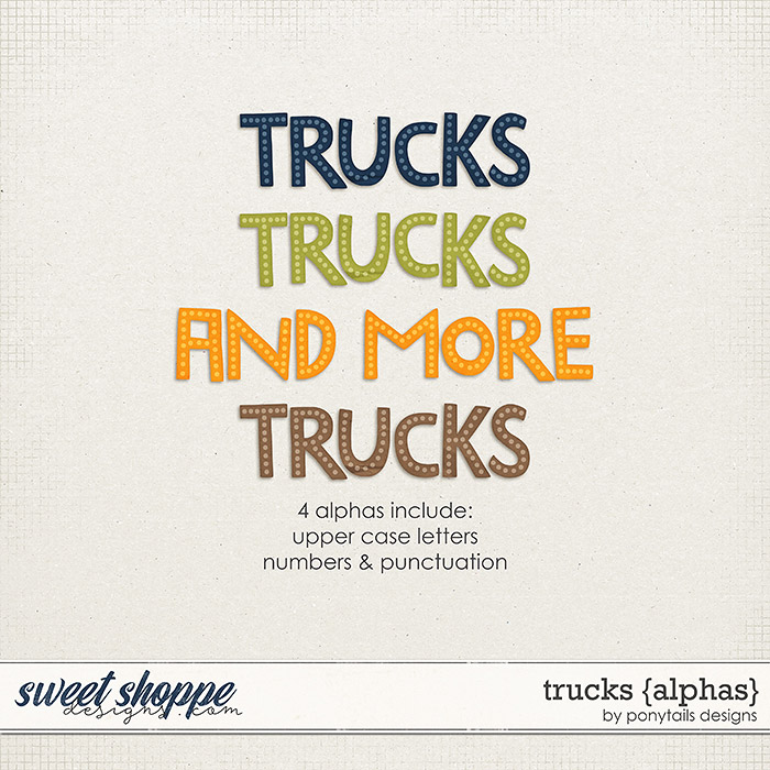 Trucks Alphas by Ponytails