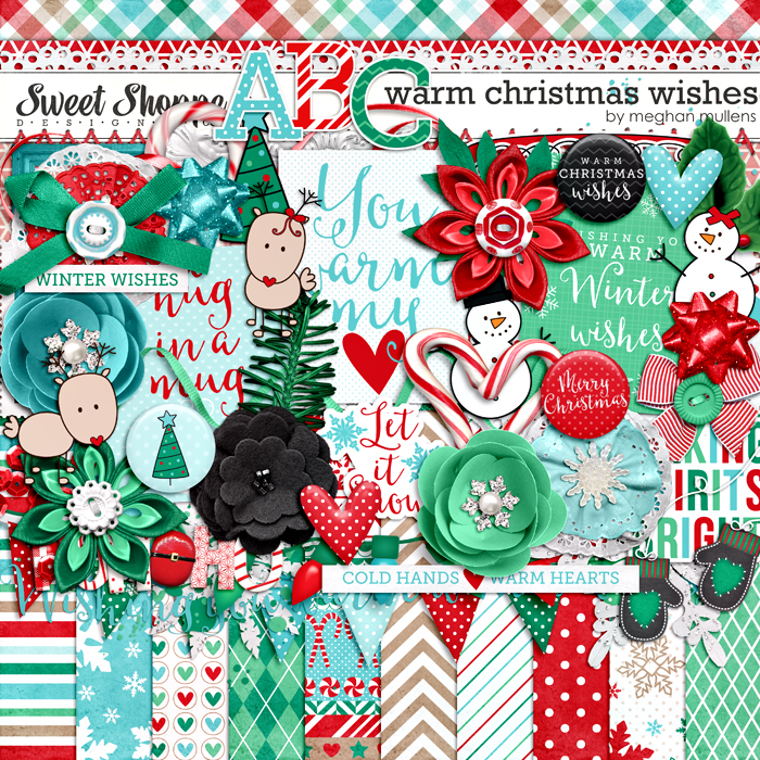 Warm Christmas Wishes by Meghan Mullens