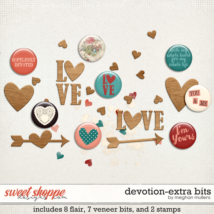 Devotion-Extra Bits by Meghan Mullens