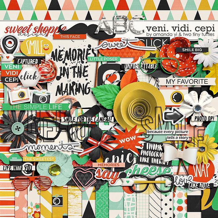 Veni.Vidi.Cepi Kit by Amanda Yi & Two Tiny Turtles