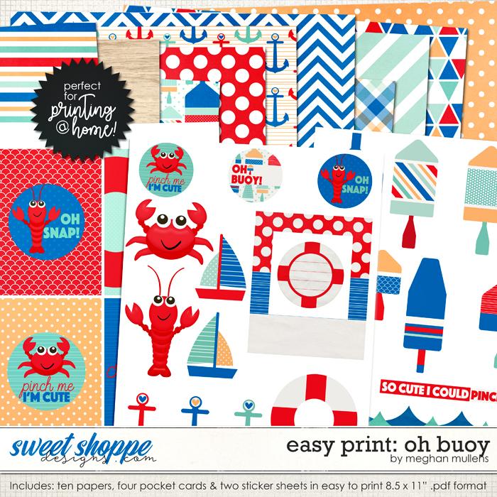 Easy Print: Oh Buoy by Meghan Mullens